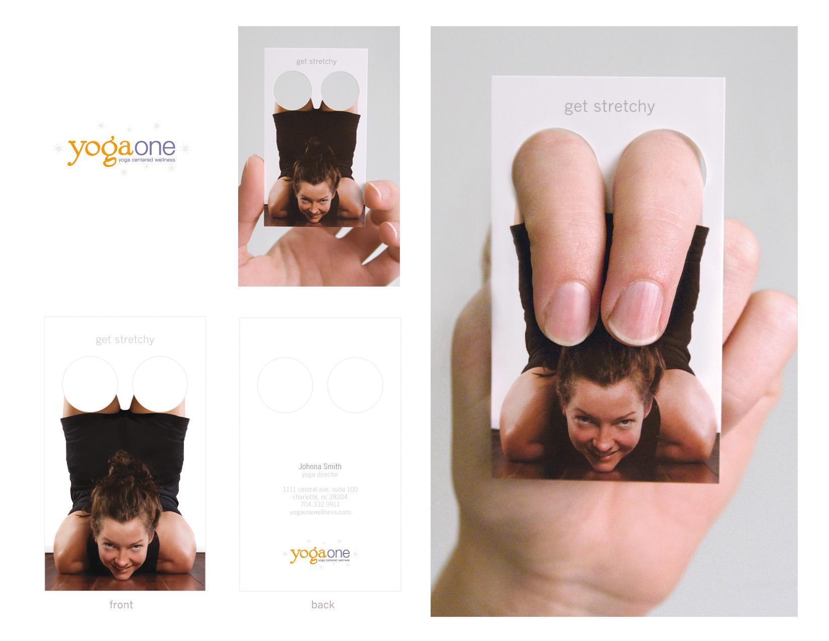 Creative Yoga Business Cards Alison Hinks Yoga