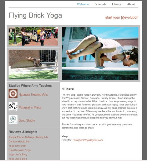 Flying Brick Yoga